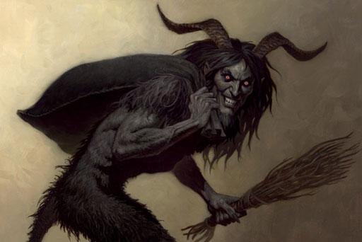 Krampus: El terror de la navidad.